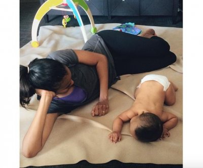 Zoe Saldana shares new photo with son Cy