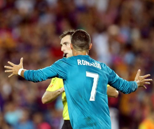 Real Madrid: Cristiano Ronaldo gets five-game ban after pushing referee