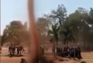 Watch:-Dust-devil-interrupts-sports-day-event-at-India-college