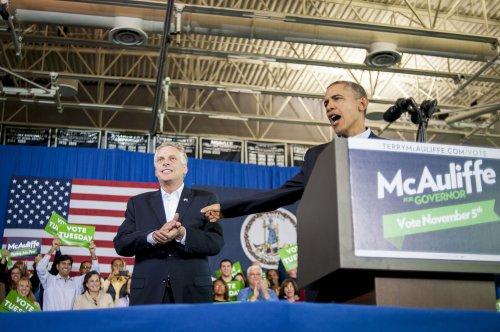 Obama stumps for McAuliffe in Virginia