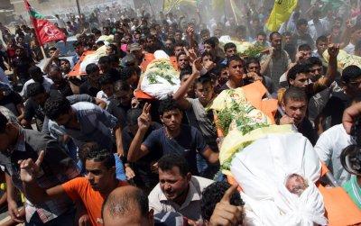Israeli military says it shot down drone from Gaza