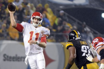 Kansas City Chiefs QBs quarterbacks hope to thrive on competition, consistency