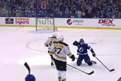 Tampa Bay Lightning even Stanley Cup playoff series vs. Boston Bruins