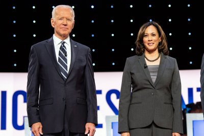 Biden, Harris denounce Trump's COVID-19 response at 1st joint event