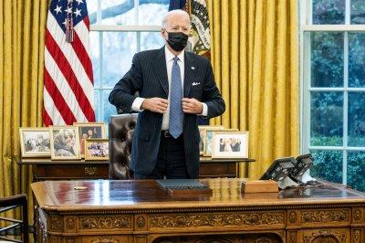 Biden raises 'matters of concern' in first phone conversation with Putin