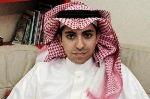 Jailed Saudi blogger sentenced to flogging gets human rights prize