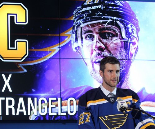 Alex Pietrangelo named captain by St. Louis Blues