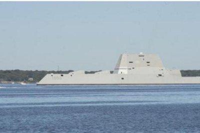 Navy's new $4.4B Zumwalt destroyer breaks down in Panama Canal
