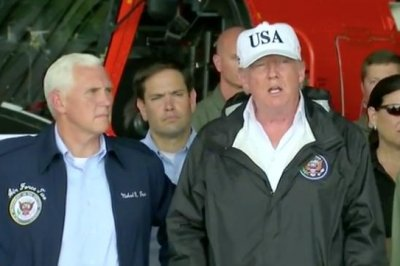 Trump visits Irma victims in hard-hit southwest Florida