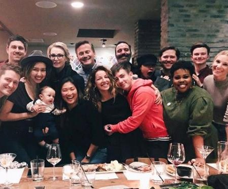 Matthew Morrison and the 'Glee' cast reunite in Los Angeles