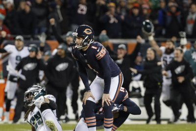 Parkey misses winning kick, Philadelphia Eagles edge Chicago Bears