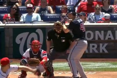 Braves pitcher Soroka leaves game after hit by pitch; X-rays negative