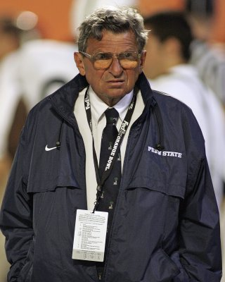 Penn State Coach Joe Paterno hospitalized