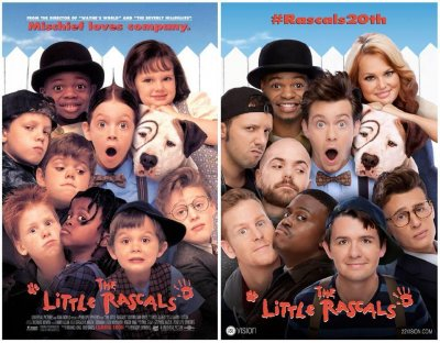 'The Little Rascals' cast reunite and recreate movie poster