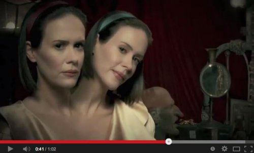 Sarah Paulson talks two-headed role on 'American Horror Story'