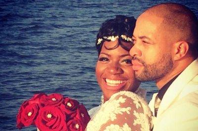 Fantasia Barrino weds fiancé Kendall Taylor