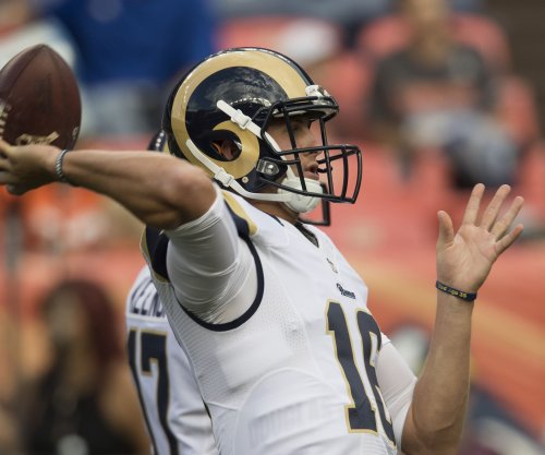 Jared Goff: No. 1 pick may not start until Los Angeles Rams eliminated