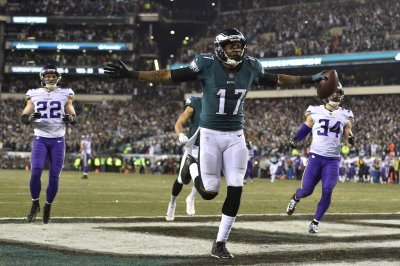 Philadelphia Eagles WR Alshon Jeffery to miss at least two games