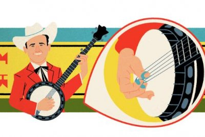 Google honors musician Earl Scruggs with new Doodle