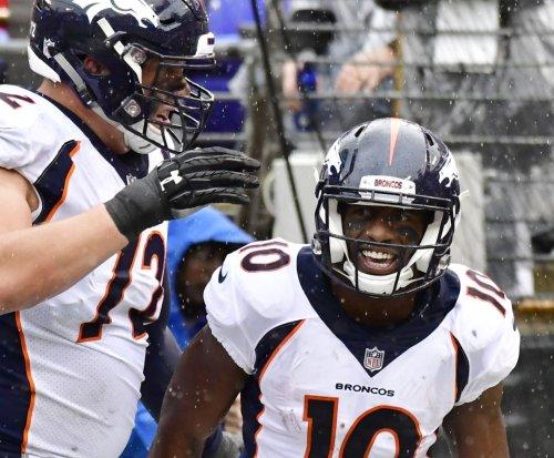 Preseason: Broncos' Emmanuel Sanders shines; 49ers' Jimmy Garoppolo struggles