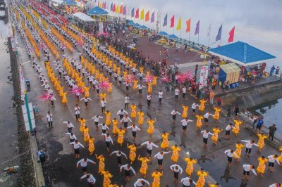 7,127 perform folk dance in Philippines for Guinness record