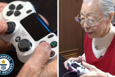 90-year-old 'Gaming Grandma' dubbed world's oldest gaming YouTuber