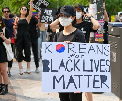 South Korea joins global Black Lives Matter rallies