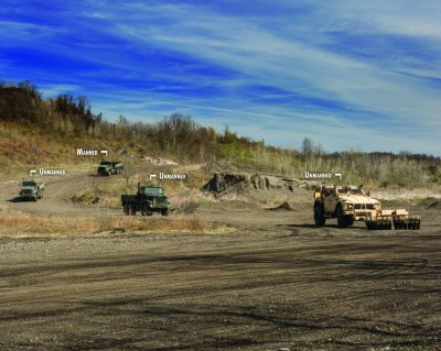 Oshkosh promotes unmanned ground vehicles for route clearance