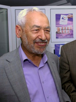 Islamist leader Ghannouchi concedes defeat to Tunisia's secularists