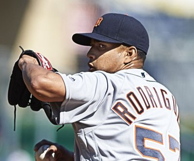 Francisco Rodriguez closes out another Detroit Tigers' win in Boston