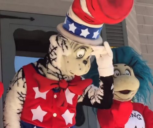 'The Cat in the Hat' announces presidential run at Dr. Seuss' childhood home