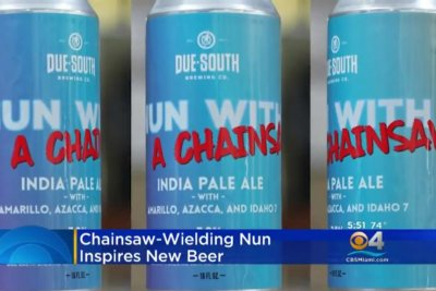 Brewery creates beer to honor chainsaw-wielding nun