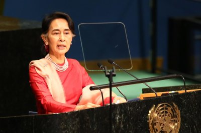 Amnesty International strips Myanmar leader of human rights award