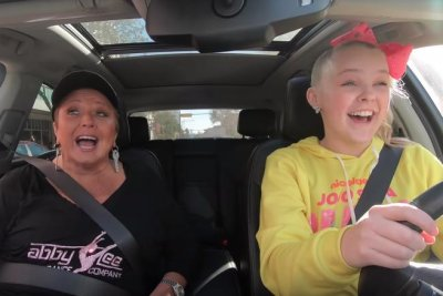 Abby Lee Miller teaches JoJo Siwa to drive in new video