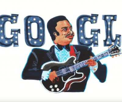 Google honors blues legend B.B. King with new Doodle