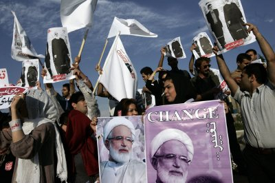 Clashes mark youth's funeral in Tehran