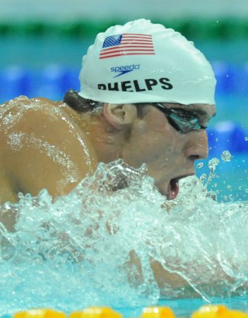 Phelps easily qualifies for first final