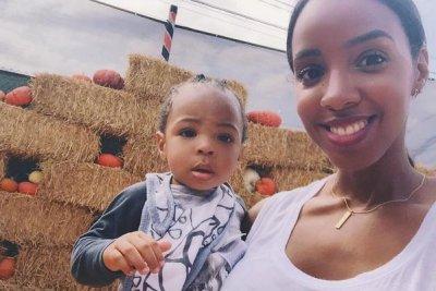 Kelly Rowland shares new photos of son Titan