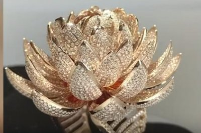 Indian jewelers break world record for most diamonds in one ring