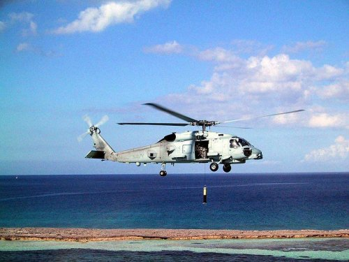 Navy operating new flight simulators for Seahawk helicopters