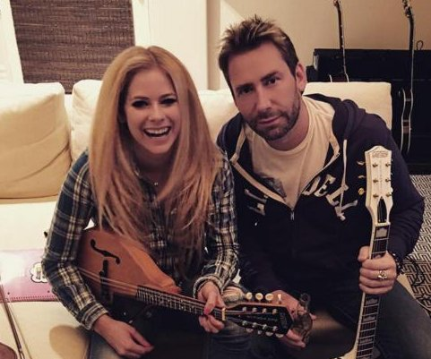 Avril Lavigne reunites with estranged husband Chad Kroeger