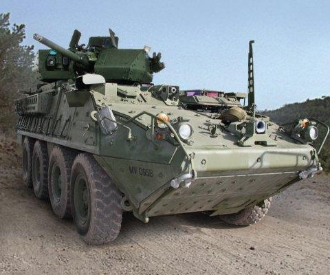 First U.S. Stryker with 30mm cannon debuts