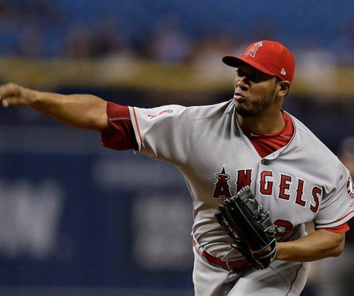 Settling in after 1st inning, Los Angeles Angels' JC Ramirez shut down Tampa Bay Rays