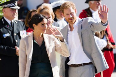 Prince Harry, Meghan Markle visit namesake county of Sussex