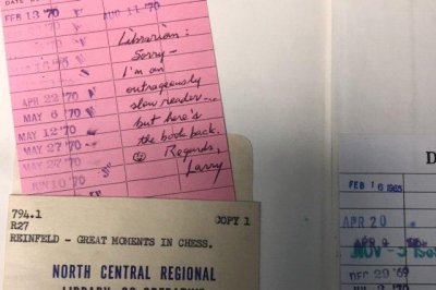 Ontario library solves mystery of returned book's 49-year absence