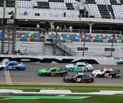 Showers may dampen Daytona as NASCAR season revs up Sunday