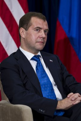 Butt out, Medvedev says of vote concerns