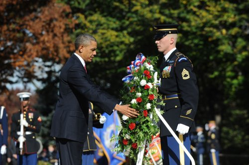 Obama vows to keep promise to veterans 'now, tomorrow and forever'