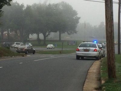 One shot in Albemarle High School shooting, shooter in custody