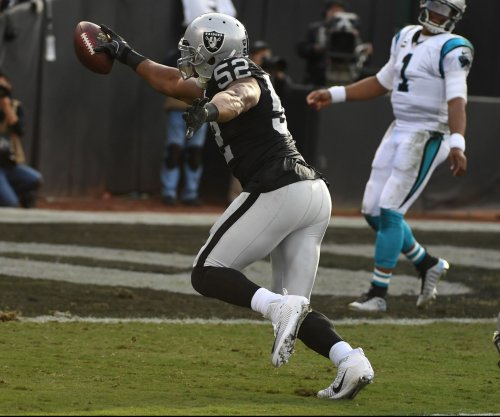 New Orleans Saints' Mark Ingram, Oakland Raiders' Khalil Mack top players of week